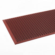 "Safewalk-Light Heavy-Duty Anti-Fatigue Mat - 36"" x 60"" - Terra Cotta"