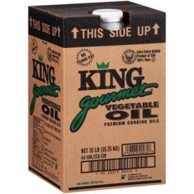 King Gourmet Vegetable Oil - 35 lb.