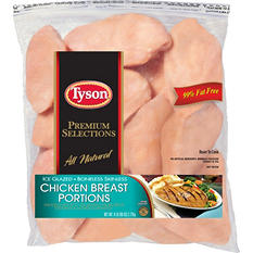 Tyson Boneless Skinless Chicken Breast Portions (6 lbs.)
