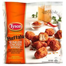 Tyson Buffalo Style Boneless Chicken Wyngz (52 oz.)