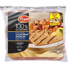 Tyson Chicken Breast Tenderloins (6 lb.)
