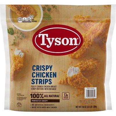 Tyson Crispy Chicken Breast Strips 3 5 Lb Sam S Club