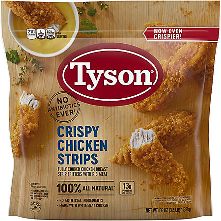 Tyson Crispy Chicken Breast Strips (3.5 lb.)