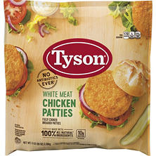 Tyson Breaded Chicken Breast Patties (5 lb.)