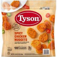 Tyson Spicy Chicken Nuggets, Frozen (4.5 lbs)