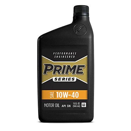 Prime Series Conventional Motor Oil SAE 10W-40 (12 pk., 1-qt. bottles)