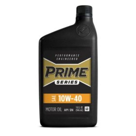 Prime Series Conventional Motor Oil SAE 10W-40 (12 pk., 1-qt. bottles)