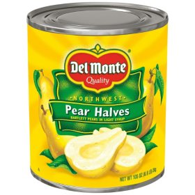 Del Monte Pear Halves (105 oz.)