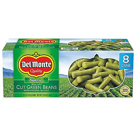 Del Monte Cut Green Beans (14.5 oz., 8 pk.)