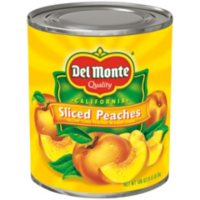 Del Monte Sliced Peaches in Light Syrup (106 oz. can)