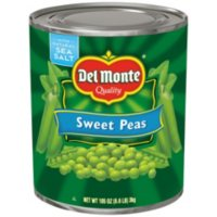 Del Monte Sweet Peas (105 oz.)