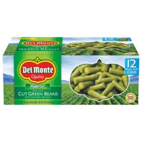 Del Monte Blue Lake Cut Green Beans (14.5 oz., 12 pk.)