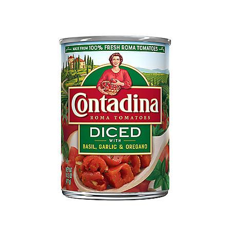 Contadina Italian Diced Roma Tomatoes (12 pk.)
