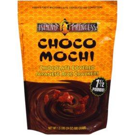 Island Princess Choco Mochi Chocolate-Covered Rice Crackers (24 oz.)