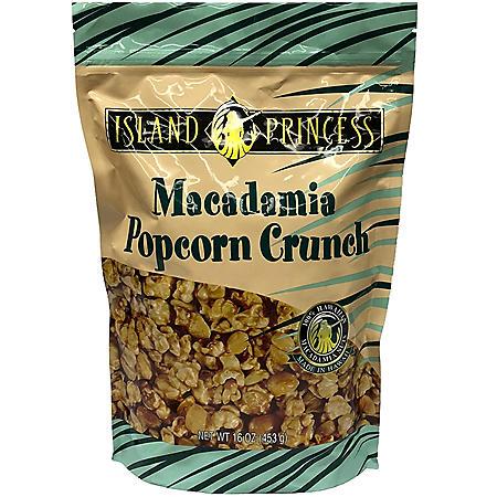 Island Princess Macadamia Popcorn Crunch (16 oz.)