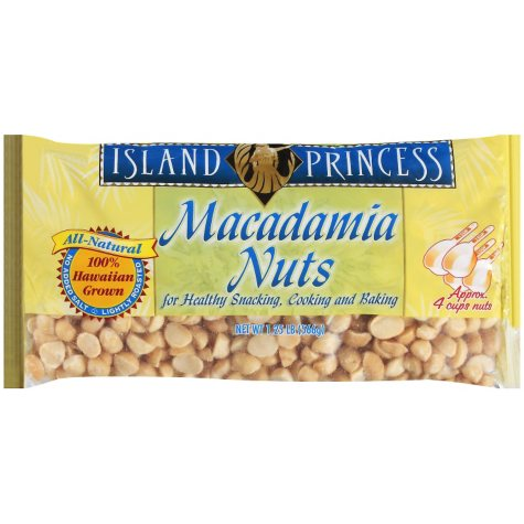 Macadamia Nuts - 1.25 lb. bag