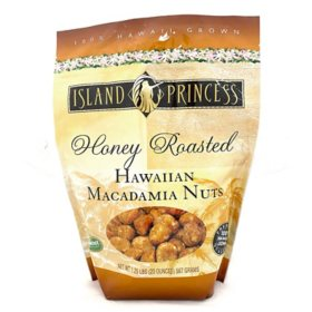 Island Princess Honey Roasted Macadamia Nuts (20 oz.)