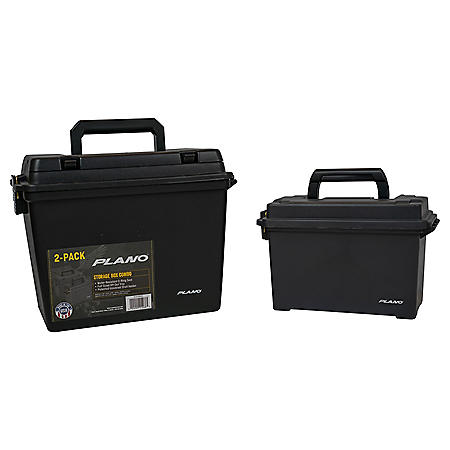 Plano 2-Pack Storage Box Combo