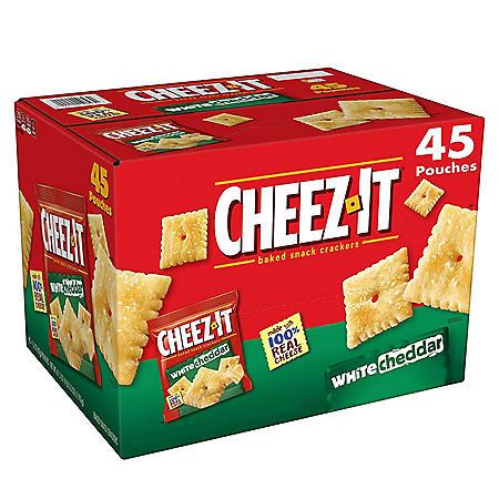Cheez-It White Cheddar Snack Packs (1.5 oz., 45 pk.)