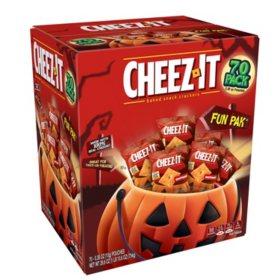 Cheez-It Halloween Fun Packs (.38 oz., 70 ct.)