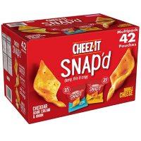 Cheez-It Snap'd, Variety Pack (0.75 oz., 42 pk.)