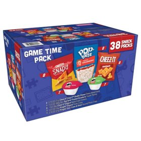 Kellogg's Game Time Snacks, Variety Pack (38 pk.)