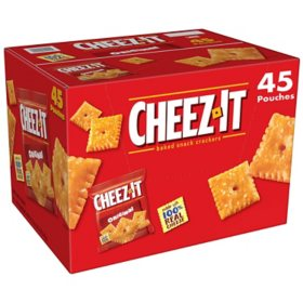 Cheez-It Original Snack Packs (1.5 oz., 45 pk.)