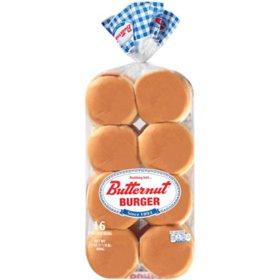 Butternut Burger Buns (24 oz., 16 ct.)