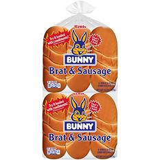 Bunny Brat and Sausage Buns (28 oz., 12 ct.)