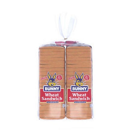 Bunny Wheat Sandwich Bread (20 oz. / 2 pk.)