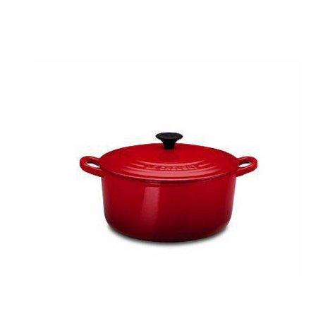 Le Creucet 5 1/2 Quart Red Dutch Oven