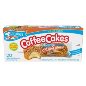 Drake's Coffee Cakes Club Pack (2.6oz / 10pk)