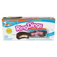 Drake's Ring Dings Cakes Club Pack (2.89oz / 10pk)