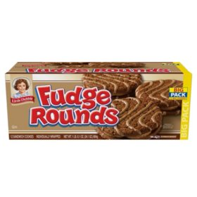 Little Debbie Fudge Rounds (2 oz./ 12 pk.)