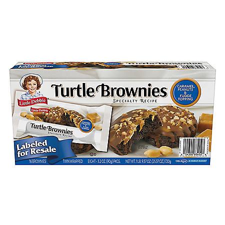 Little Debbie Club Pack Turtle Brownies (3.2 oz., 8 ct.)