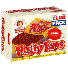 Little Debbie Nutty Bars - 2.1 oz. - 12 ct.