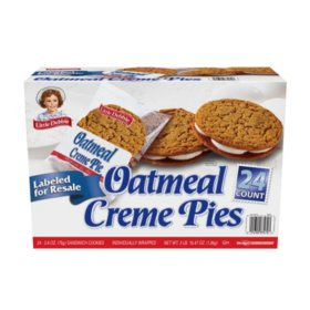 Little Debbie Oatmeal Creme Pie Club Pack 24 Pk