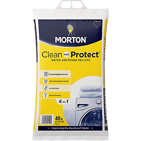 Morton Clean and Protect Water Softener Pellets (40 lb.)