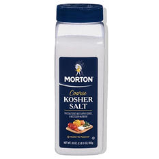 Morton Coarse Kosher Salt (35 oz.)