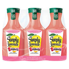 Simply Lemonade With Raspberry (59 fl. oz., 3 pk.)