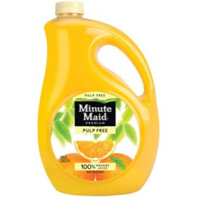 Minute Maid Orange Juice Pulp Free (1 gal.)