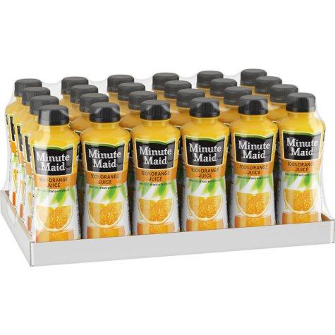 Minute Maid 100% Orange Juice (15.2 oz., 24 pk.)