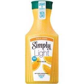 Simply Light Pulp-Free Orange Juice (52 oz.)