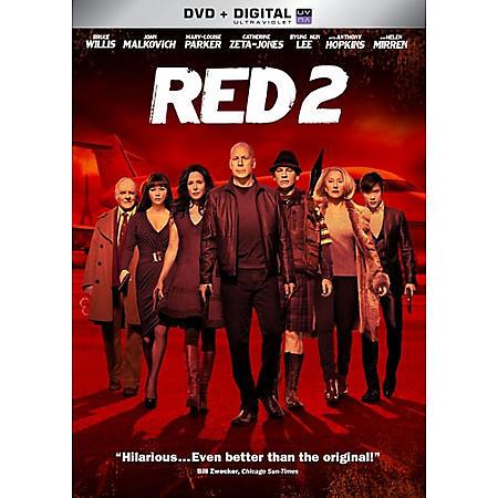 RED 2 DVD + UV STREET DATE 11/26/13