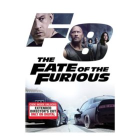 Fate of the Furious DVD + Digitial HD