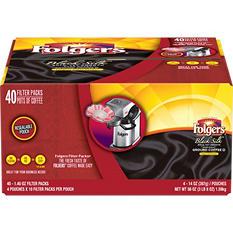 Folgers Black Silk Filter Pack (1.4 oz., 40 ct.)