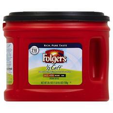 Folgers 1/2 Caff Medium Roast Ground Coffee (25.4 oz.)