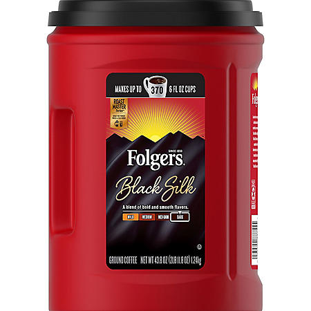 Folgers Black Silk Coffee (43.8 oz.)