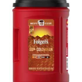 Folgers 100% Colombian Coffee (43.8 oz.)?