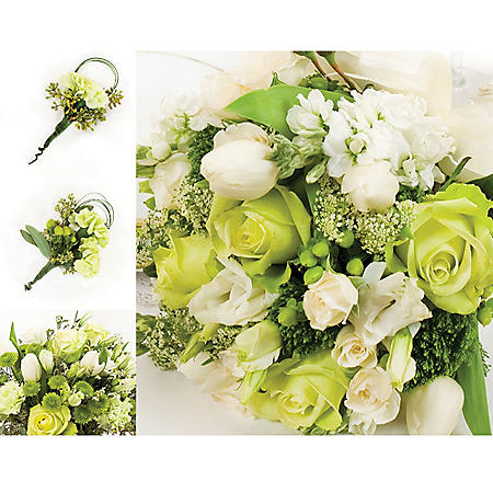 Wedding Collection Green and White
